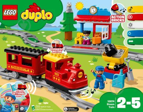Конструктор LEGO Duplo Поезд 10874 - фото 1