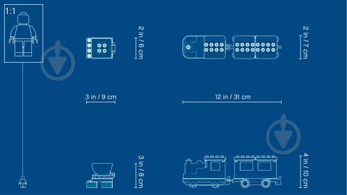 Конструктор LEGO Duplo Поезд 10874 - фото 6