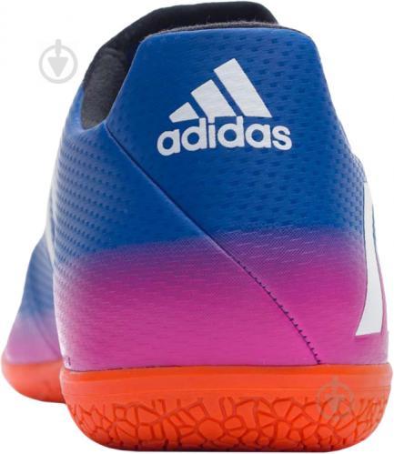 Футбольные бутсы Adidas MESSI 16.3 IN BA9018 р. 44,5 сине-розовый - фото 3