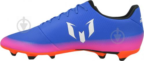 Футбольные бутсы Adidas MESSI 16.3 FG BA9021 р. 10 сине-розовый
