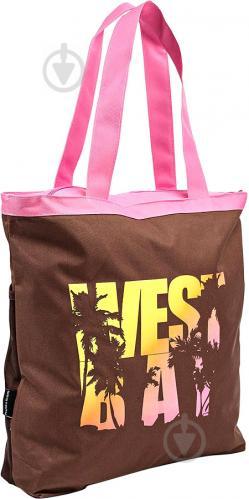 468f783bdd47 ᐉ Сумка пляжная Fashy коричневый с рисунком Catania • Купить в ...