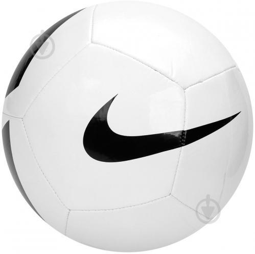 ᐉ Футбольный мяч Nike Pitch Team р. 5 SC3166-100 • Купить в Киеве ... cda9c1bf0261e