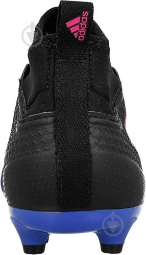 Футбольные бутсы Adidas ACE 17.3 PRIMEMESH FG BA8505 р. 10.5 черно-синий - фото 4