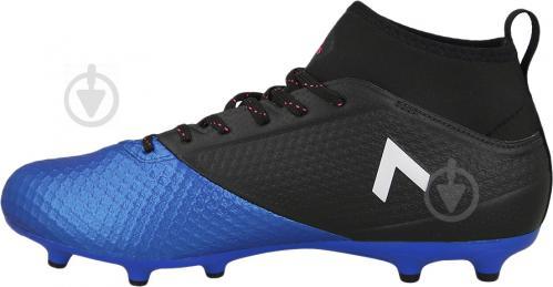 Футбольные бутсы Adidas ACE 17.3 PRIMEMESH FG BA8505 р. 10.5 черно-синий - фото 3