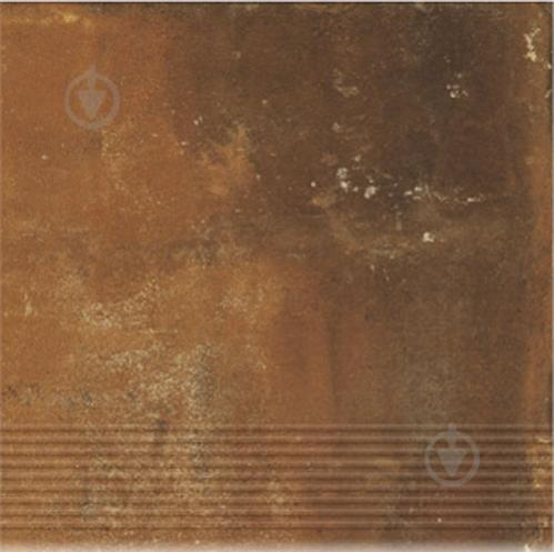 Клінкерна плитка Dallo Rosso stopnica 30x30 Cerrad - фото 1