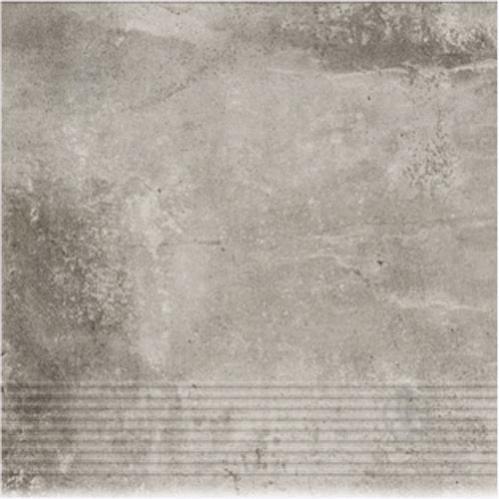 Клінкерна плитка Dallo Grigio stopnica 30x30 Cerrad - фото 1