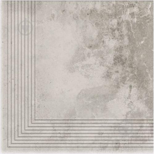 Клінкерна плитка Dallo Grigio stopnica narozna 30x30 Cerrad - фото 1
