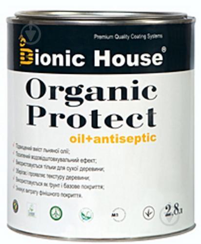 Грунтовка Bionic House антисептик с маслом мат 2,8 л - фото 1