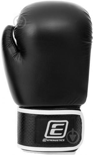 Боксерские перчатки Energetics 12oz Leather 225543 черный - фото 2