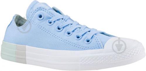 Кеды Converse Chuck Taylor All Star 159600C р. 6,5 голубой - фото 3