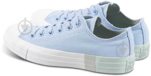 Кеды Converse Chuck Taylor All Star 159600C р. 6,5 голубой - фото 2