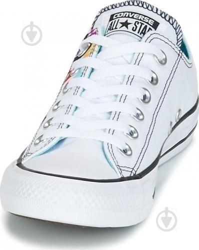 Кеды Converse Chuck Taylor All Star 159715C р. 6,5 белый - фото 4