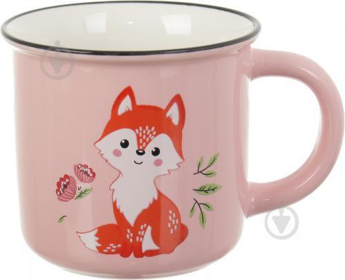 Чашка Cute Animals Fox 350 мл Fiora - фото 1