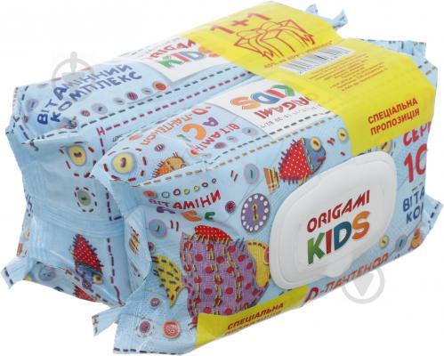 Вологі серветки дитячі Origami Kids 200 шт. - фото 1