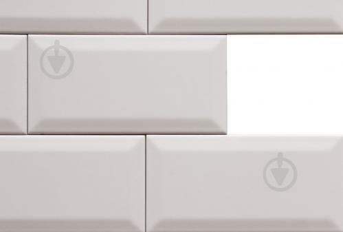 Плитка Golden Tile Metrotiles белый сатин 460161 10x20 - фото 2