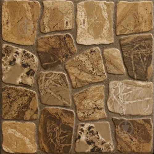 Плитка Cersanit Грес Памір браун 30x30 - фото 1
