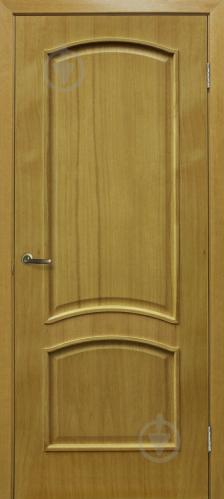 Дверне полотно ОМіС Капрі ПГ 800 мм дуб натуральний тонований
