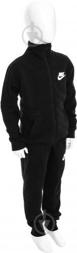 Костюм Nike G NSW TRK SUIT FT AW1718 860069-010 р. L черный - фото 2