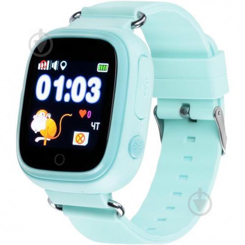 Детские умные часы с GPS трекером Gelius Pro GP-PK003 Blue (00000076477) - фото 1