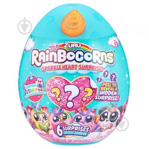 Игрушка-сюрприз Rainbocorn B серия Sparkle Heart Surprise 2 17,6 см 9214B - фото 1