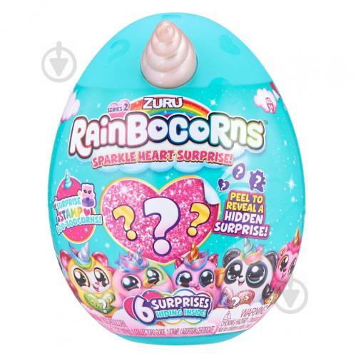 Игрушка-сюрприз Rainbocorn G серия Sparkle Heart Surprise 2 17,6 см 9214G - фото 1