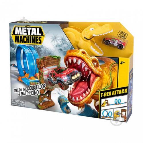 Игровой набор Zuru Metal Machines T Rex 6702 - фото 1