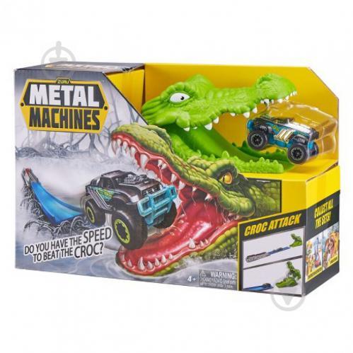 Игровой набор Zuru Metal Machines Crocodile 6718 - фото 1