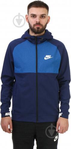 Худі Nike M NSW AV15 Hoodie FZ FLC AW1718 р. M синій 861742-429