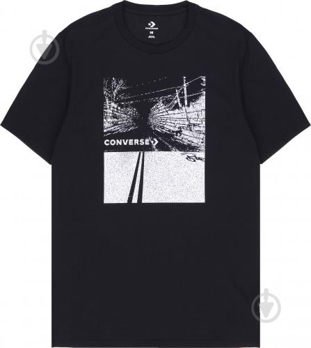 Футболка Converse Roadway Photo Tee 10005913-001 S черный