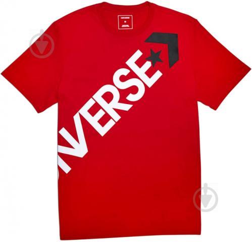 Футболка Converse Cross Body Tee р. S красный 10005902-603