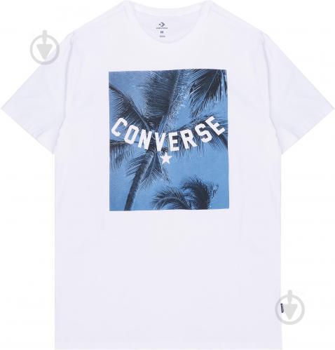 Футболка Converse Palm Tree Photo Tee 10005906-102 L белый