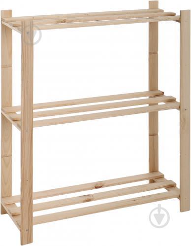 Стелаж DDK Furniture Basic 3 полиці 900x800x300 мм дуб (Basic3) - фото 1