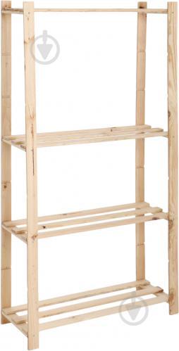 Стелаж DDK Furniture Basic 4 полиці 1500x800x300 мм дуб (Basic4) - фото 1
