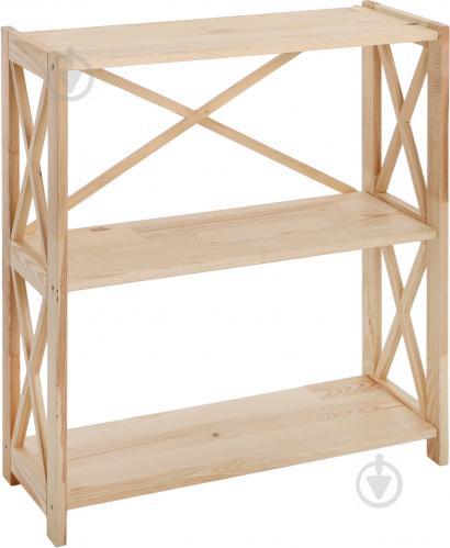 Стеллаж DDK Furniture Ran3 850x800x300 мм сосна (Ran3pine) - фото 1
