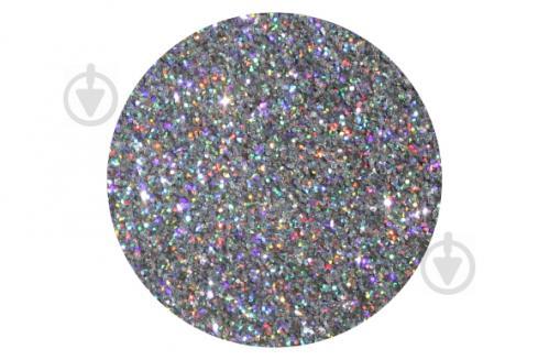 Голографічний блиск срібло Bioplast 15 г - фото 1