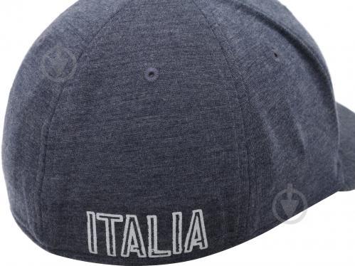 Бейсболка Puma FIGC Cap 2121201 OS сине-серый - фото 2