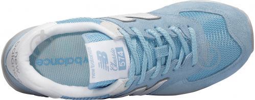 Кросівки New Balance WL574ESB р.7,5 блакитний - фото 3