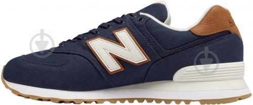 Кроссовки New Balance ML574YLC р.9 синий - фото 2