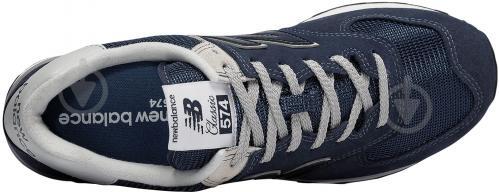 Кроссовки New Balance ML574EGN р.9 синий - фото 3