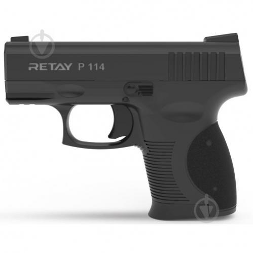 Оружие сигнально-шумовое Retay P114, 9мм. к:black - фото 1