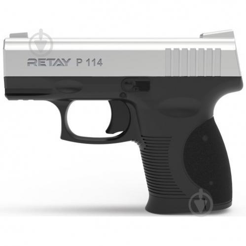 Оружие сигнально-шумовое Retay P114, 9мм. к:chrome - фото 1