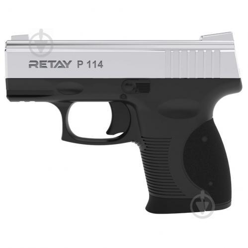 Оружие сигнально-шумовое Retay P114, 9мм. к:nickel - фото 1