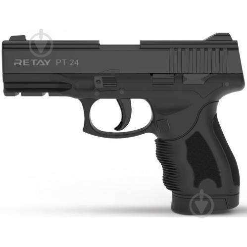 Оружие сигнально-шумовое Retay PT24, 9мм. к:black - фото 1