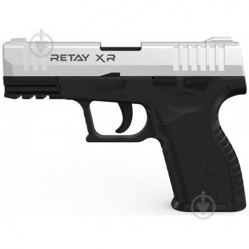 Оружие сигнально-шумовое Retay XR, 9мм. к:chrome - фото 1