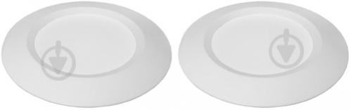 Світильник точковий Eurolamp 2 шт./уп. 3 Вт 3000 К білий ЕПЦ-LED-DL-3/3