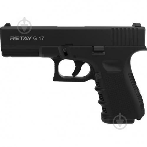 Оружие сигнально-шумовое Retay G 17, 9ММ. К:BLACK - фото 1