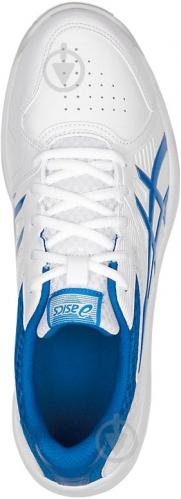 Кроссовки Asics COURT SLIDE 1041A037-100 р. 7,5 бело-голубой - фото 3