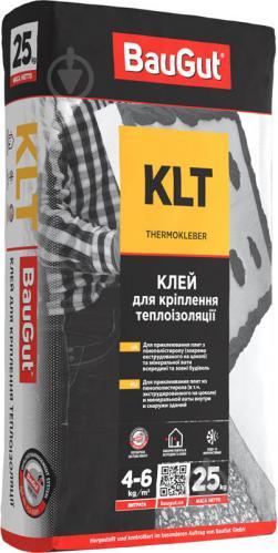 Клей для теплоизоляции BauGut KLT 25 кг - фото 1