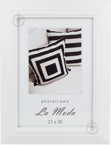 3267af5e4698ff ᐉ Рамка для фото La Moda P4801 white 21х30 см • Краща ціна в Києві ...