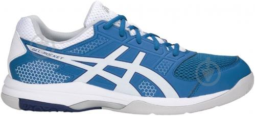 Кроссовки Asics GEL-ROCKET 8 B706Y-401 р. 11 голубо-синий - фото 2